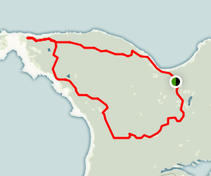 Wilderness State Park Trails Map