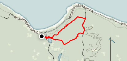 Red Pine Trail Map