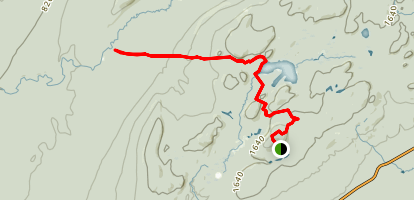 Correction Line Trail Map