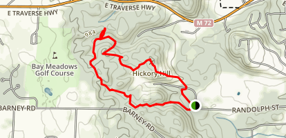 Hickory Hills Loop Trail Map