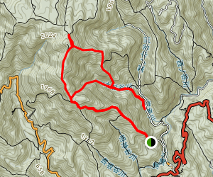Atago Mountain Hike Map