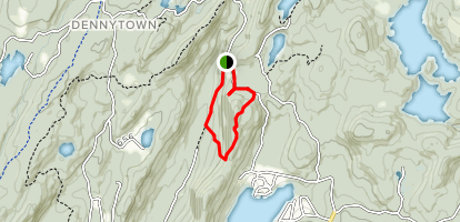 Candlewood Hill Trail  Map