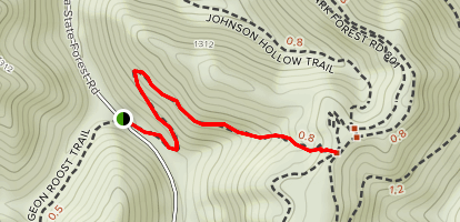 Black Bear Mountain Bike Trail Map