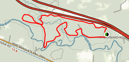 Pine Haven Singletrack Map