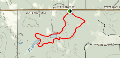 Reid Lake Loop Trail Map
