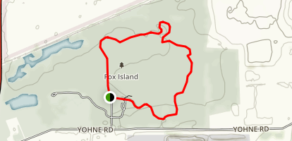Fox Island Trail Map