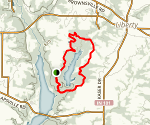 Whitewater Lake Loop Map