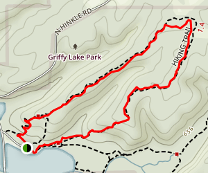 Boat House Trails Map