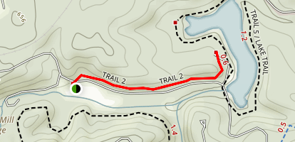 Trail 2 at Spring Mill Map