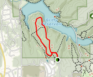 South Shore Trails Loop Map