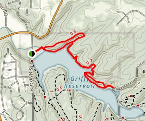 North Shore Loop Trail Map
