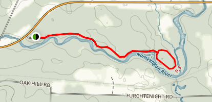 Trego Nature Trail Map