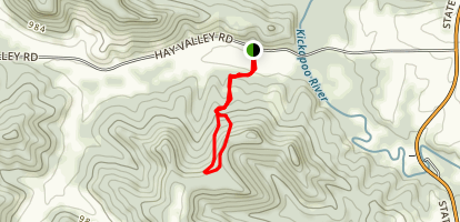 Hayview Trail Map