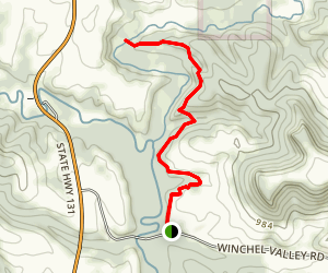 Billings Creek Trail Map