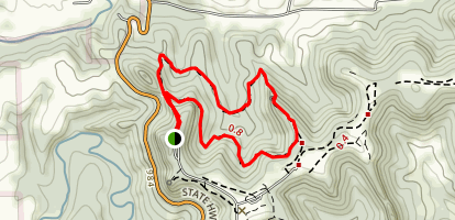 Old Settlers' Trail Map
