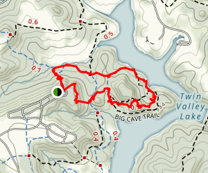 Big Cave Trail Map