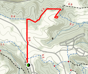 Small Caves at Governor Dodge Map