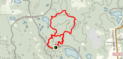 Washburn Trails Map