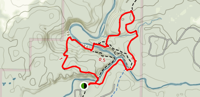 Copper Falls State Park Loop Trail Map