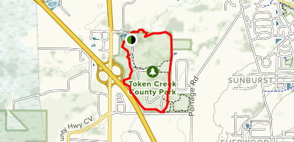 Token Creek Loop Map