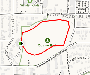 The Quarry Park Loop Map