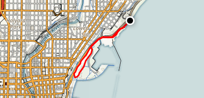 Milwaukee Lakefront Map