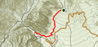 White Rock / Willow Springs Map