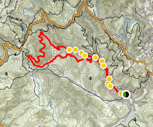 Bootjack Trail Loop Map