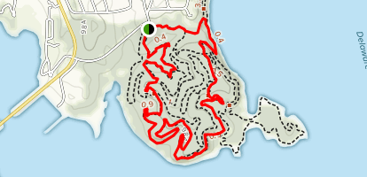 Perry State Park Loop Trail Map