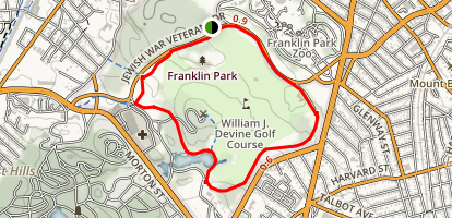 Franklin Park Map