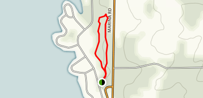 Meadowbrook Self-guided Trail Map