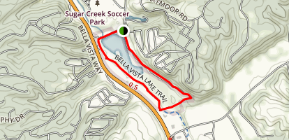 Bella Vista Lake Trail Map
