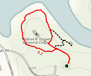 Cooper Chapel Trail Map