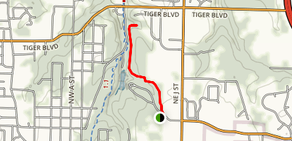 Rock Ledge Trail (CLOSED) Map