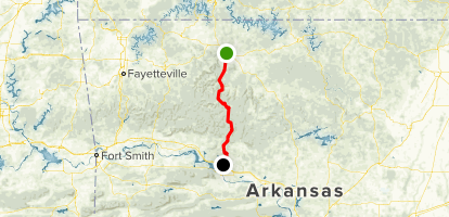 Russellville Arkansas Map.Scenic 7 Byway Harrison To Russellville Arkansas Alltrails