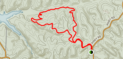 Dutton Hollow Loop Map