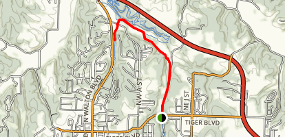 North Bentonville Trail Map