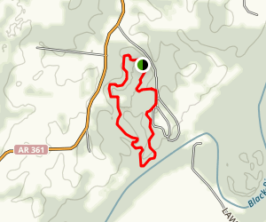 Black River and Trappers Lake Trails Map