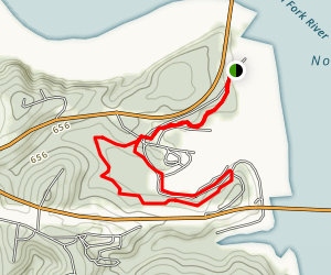 David's Trail, Panther Bay Loop Map