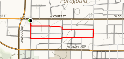 Paragould History Trail Map