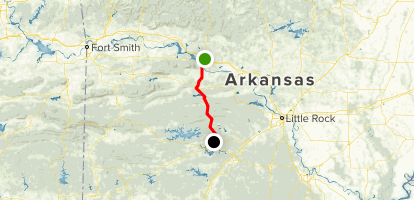 Russellville Arkansas Map.Scenic 7 Byway South Russellville To Hot Springs Arkansas Alltrails