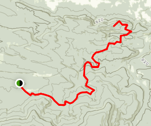 Huckleberry Mountain Horse Trails Map