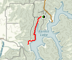 Forest Lake Trail Map