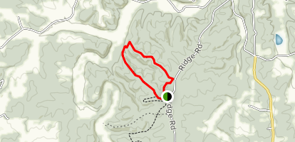 Blue Square Trail Map