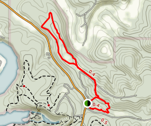 Dolomite Rock Trail Map
