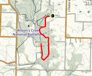 Manley Uplands Trail Map