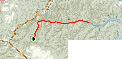 Piney Creek Trail Map
