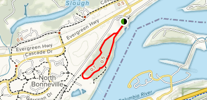 Fort Cascades Trail Map