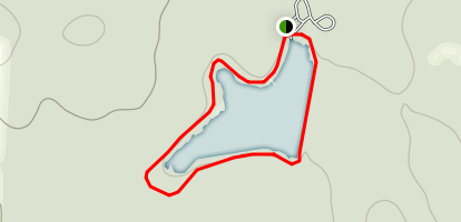 Pinewoods Lake Loop Map