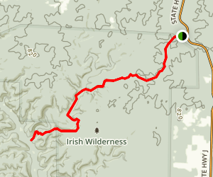 White's Creek Trail Map